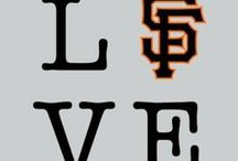 """SF Giants (and a little NY love thrown in) / I've been a gamer babe since birth. My mom rocked me to sleep during the earthquake in the 1989 World Series in the Battle of the Bay. So I guess you could say I've been a fan since birth. And my love has only grown. Living in Fresno lets me see them come up through the farm system and see them grow into the Giants that they become. It's the best thing about living in Fresno. Seeing my boys win in 2010 was amazing, in its truest form. I know I haven't been around long enough to understand the pain and """"torture"""" most Giants fans have gone through. But I felt that 21 years was long enough. It was the first time I've seen one of my teams win a National Championship. It truly was magical. An autumn I will never forget.  / by Jessica Yoshida"""