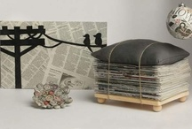 Newspaper-inspired crafts / by Julia Thompson