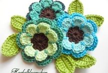 crochet flowers / by Tanya Alley