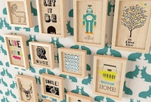Kid's Spaces / by Modern Paper Goods