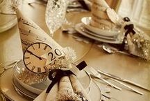 Wedding Inspiration - New Year's Eve / 5...4...3...2...1! / by Michael C. Fina