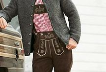 Authentic Lederhosen / Our authentic Bavarian men's clothing. Wear authentic Lederhosen for Oktoberfest this year. / by oktoberfesthaus.com