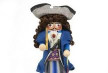 Steinbach Nutcrackers / Buy now and get FREE shipping on ALL Halloween costumes!  / by oktoberfesthaus.com