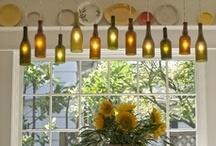 Reciclar frascos, bombillos, botellas plásticas... / Cuantas cosas maravillosas podemos hacer con ellas!!! / by Mafe Beiner Medina