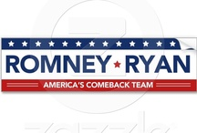 Romney Ryan Bumper Stickers / My favorite bumperstickers supporting the Romney/Ryan ticket! Show your support and repin a bumper sticker for Romney Ryan 2012! / by Republican 2012