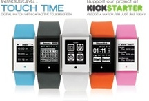 Now on Kickstarter, Touch Time / Phosphor Watches is proud to introduce the groundbreaking new Touch Time watch. The Touch Time digital watch features a screen in a sleek, button-less case designed for both men and women.  http://budurl.com/pkick  / by Phosphor Watches