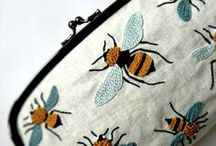 {busy little bee} / I love bumble bees (even if they do sting!)  / by Audrey Kennedy