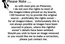Pinterest/Disclaimer / by Clarice Larkin
