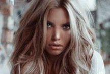 hair+make-up essentials / by Errin Haddock