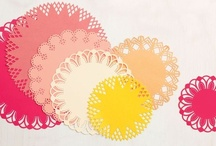 Crafts - Doilies / A collection of my favorite doily crafts and decor #doilies / by Malia Martine Karlinsky