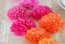 Crafts - Flowers / DIY and Craft ideas for making flowers #flowers / by Malia Martine Karlinsky