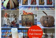 Crafts - Fall / Fall Crafts, decor and DIY projects / by Malia Martine Karlinsky
