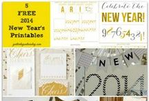 Holidays - New Years / New Years entertaining and crafts ideas #newyears / by Malia Martine Karlinsky
