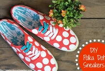 Crafts - Shoes / DIY Shoes #shoes #diyshoes / by Malia Martine Karlinsky
