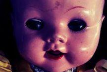 Creepy Dolls / I didn't want to sleep anyway. / by Emi Gonzalez