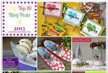 Top 10 Blog Posts of 2013 / by Malia Martine Karlinsky