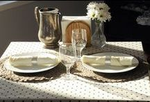 Home Tablescapes / by LinenTablecloth.com