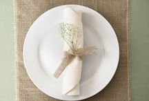 Place Setting Styles / by LinenTablecloth.com