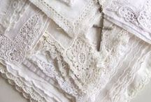 Lace and linen / by Monie