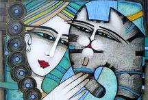 ART 1 (paintings, illustrations, sculptures ...) / by Nataša Žnidarič