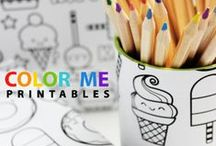 freebies, printables, fonts, coloring pages ... / by Nataša Žnidarič