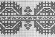 Cross Stitch --- Patterns / by Tina Hulswit