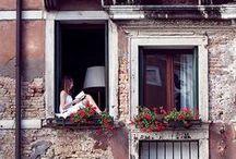 doors, windows, stairs, paths, balconies ... / by Nataša Žnidarič