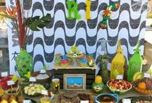 """Rio Party Inspiration / Ideas for a Rio-themed party, based on the """"Rio"""" movie series or Rio de Janeiro! / by Lynlee's"""
