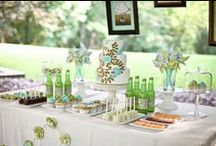 Dessert Tables / Bring on the yum! / by DIY Bride