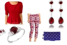 Shoshanah's Picks: RED-y, Set, Go! / Each week, Shoshanah (who has fabulous taste IMHO) will be putting together a complete outfit, accessorized with Shadora jewelry! No need to hit the malls – she will do the shopping for you! This week's look is RED-y, Set, Go! – what do you think? / by Shadora.com