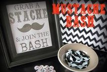 Declan's 1st Birthday Party - Little Man Mustache Bash / by Kimberly Brown Hayes