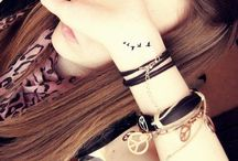 Extras / Accessories, jewelry, and tattoos / by Sarah Hartzog
