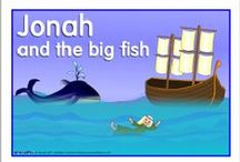 Bible: Jonah and the Great Fish for Kids / by Debbie Jackson