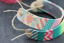 DIY Crafts { Washi Tape } / by Charmios