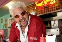 Guy Fieri / Really beginning to like this guy! His shows, recipies, car lol. I would love to get all of his cookbooks! / by Suzie Suchman