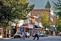 My Town, Nelson BC / This is where I live and the surrounding area. I love it here. Nelson BC / by Laurel T. Colins