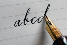 Handwriting / by Shirl Mabary