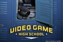 Video game high school  / by Kaylan Bennett