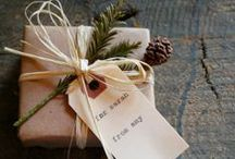 Gift Wrapping Ideas / by Allie Schiebout