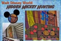 """I ♥ Hidden Mickeys / A hidden Mickey is a partial or complete impression of Mickey Mouse placed by the Imagineers and artists to blend into the designs of Disney attractions, hotels, restaurants, and other areas."""" - Steven Barret, Author of Hidden Mickeys / by Debs - Focused on the Magic"""
