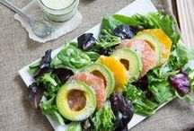 Refreshing Salads with Zing / Recipes for refreshing, minimal cook salads using fresh citrus fruit segments or freshly squeezed citrus fruit juices.  / by Sunkist Growers