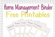 Household Planner/Organizing Binder Printables / by Bracelets By Jen