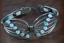 Wireworked Bracelets/Cuffs / by Betty C
