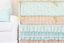 Mint Nursery / Design ideas with the color MINT in the nursery! @cadenlane / by Caden Lane