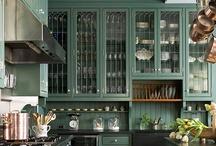 Awesome  Kitchens!!! /  kitchens reno/ decor ideas and links to kitchen websites / by Kim Moran MacIntosh