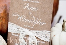 Our Happy Ever After... Invites / by Amy Robinson