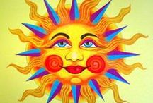 Sun Faces, Sunshine & The Color Yellow / by Lisa Cain