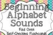Alphabet Avenue / A collection of FUN and FREE activities to help you teach your children or students about our alphabet. / by Dixie Selva