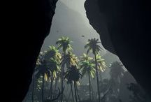 Eden | Forests, mountains, oceans, moon / A collection of the beautiful scenes of nature / by Koh Dawn