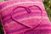 We ♥ Knit and Crochet! / Knit and crochet projects for Valentine's Day / by Martingale / That Patchwork Place